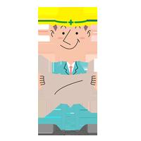 画像:配置図を確認する男性社員~工作機械・産業機械のメンテナンス・修理・改造・据付/山崎マシンテック株式会社